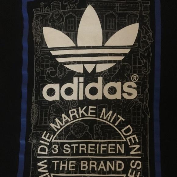 Adidas over size Shirt (die Weltmarke mit den 3 streifen